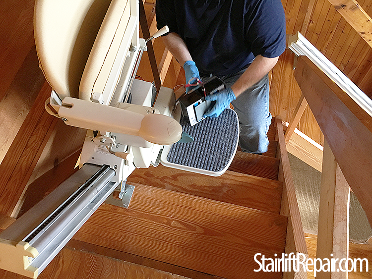 Sterling 950 stairlift repairs Northern VA, DC and Maryland