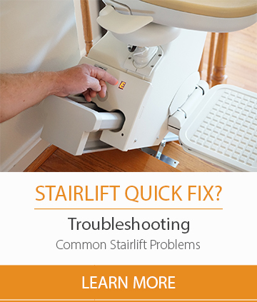 How to fix most common stair lift problems