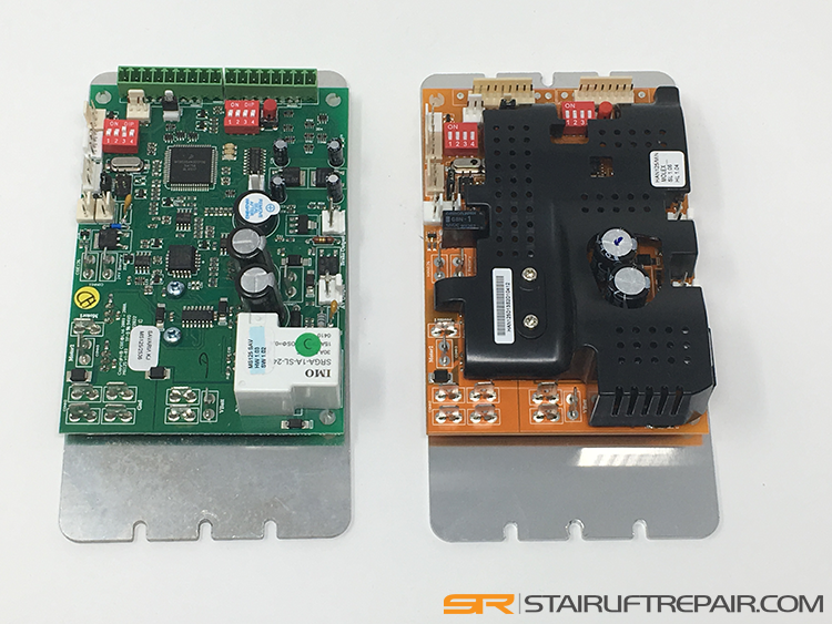Stairlift circuit boards