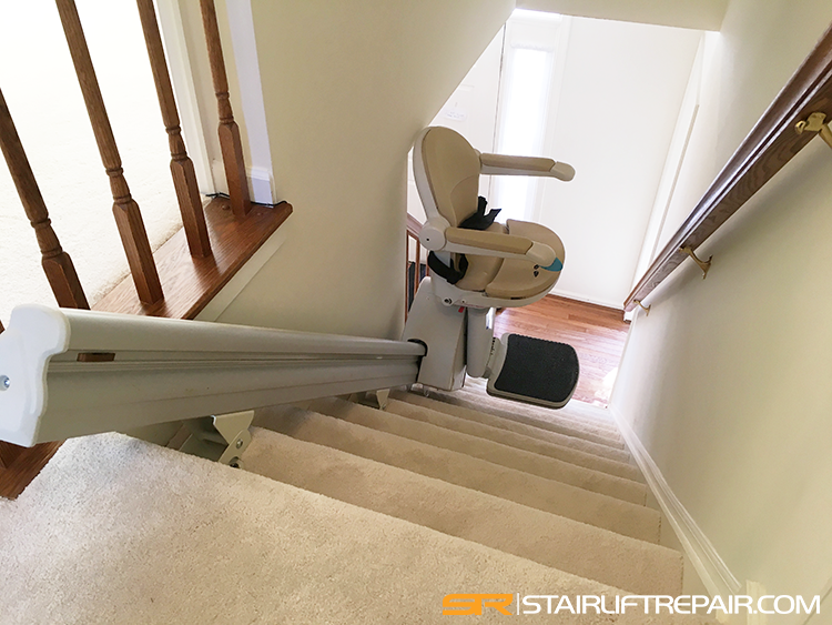 Handicare stairlift Sterling Minivator troubleshooting