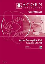 Acorn Stairlifts User Manual 130 T700